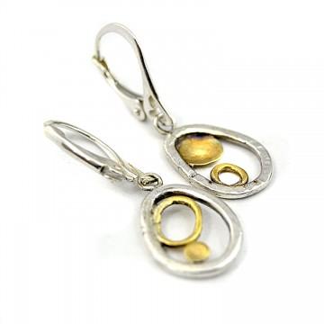 Kolczyki srebrne