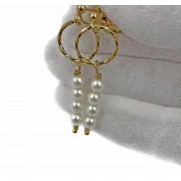 Koła z perłami