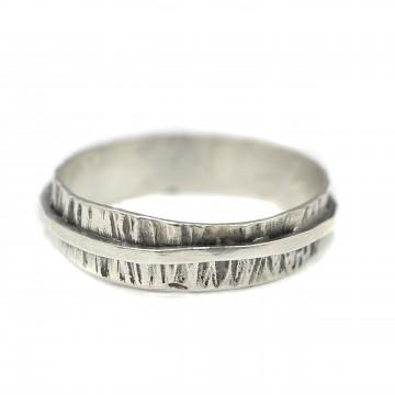 Obrączka srebrna